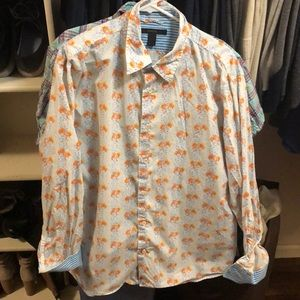 XL long sleeve men's button up by Express
